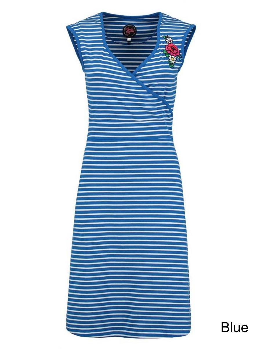Tante Betsy Summer Cross Dress Breton - Blue