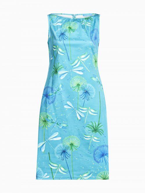 Lien & Giel Meryl Dress- Dragonfly Lagoon