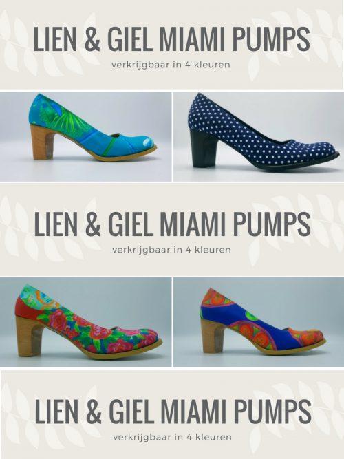 Lien & Giel Miami Pumps - Dragonfly Black