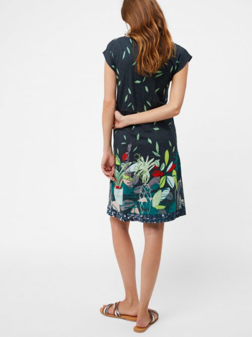 White Stuff Dara Dress - Urban Garden Print