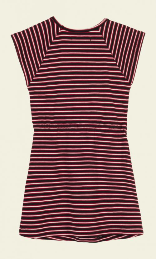 Petit Louie Raglan Dress Slim Shady - Ruby Red