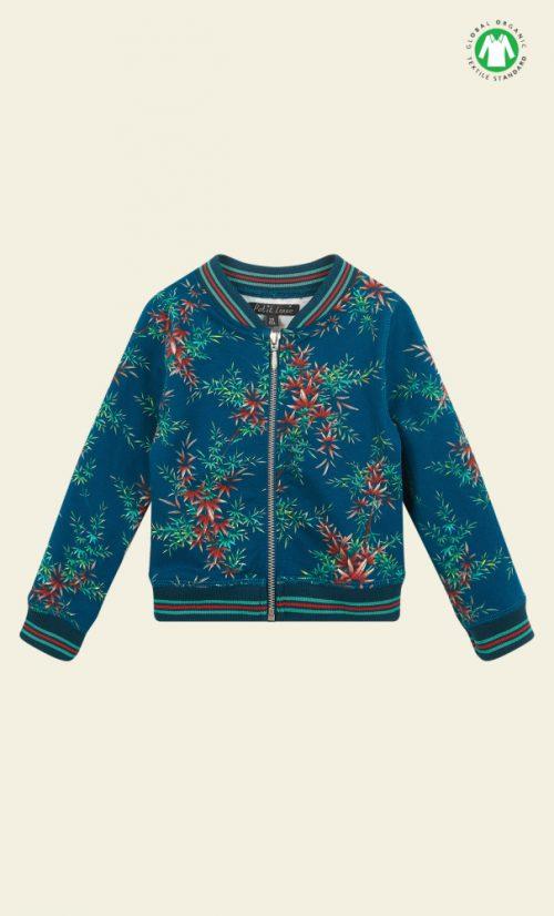 Petit Louie Baseball Jacket Nara - Storm Blue