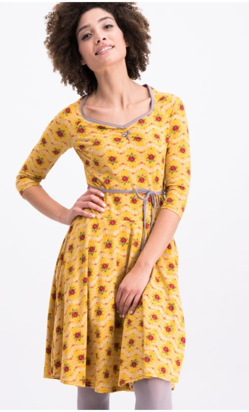 Blutgeschwister Country Rose Swing Dress