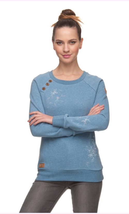Ragwear Daria Sweatshirt - Light Indigo