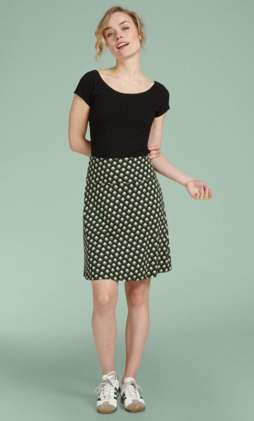 King Louie Border Skirt Oddity - Avar Green