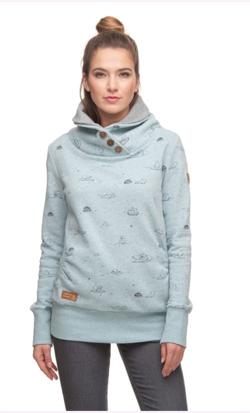 Ragwear Angel Sweatshirt - Dusty Blue
