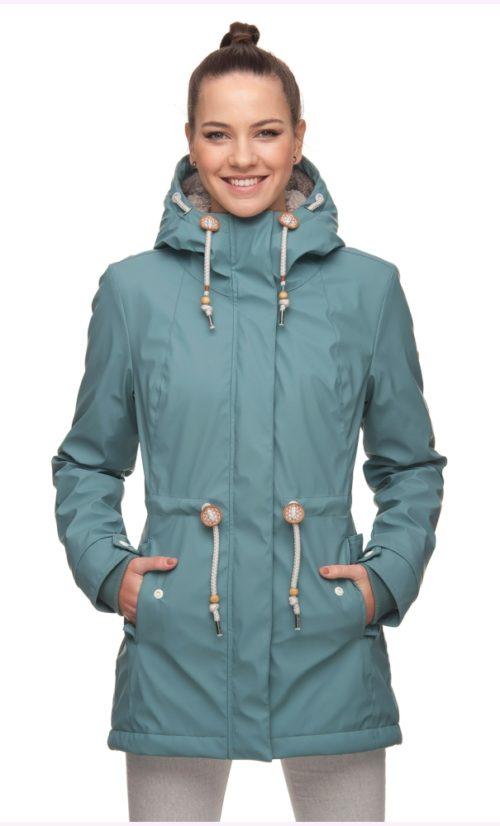 Ragwear Monadis Rainy Jacket - Dusty Blue