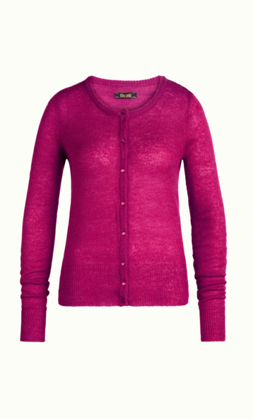 King Louie Cardi Roundneck Fluffy
