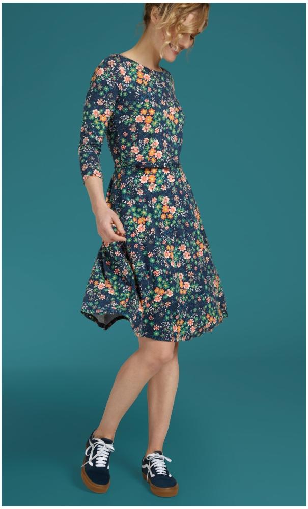 King Louie Betty Dress Florali