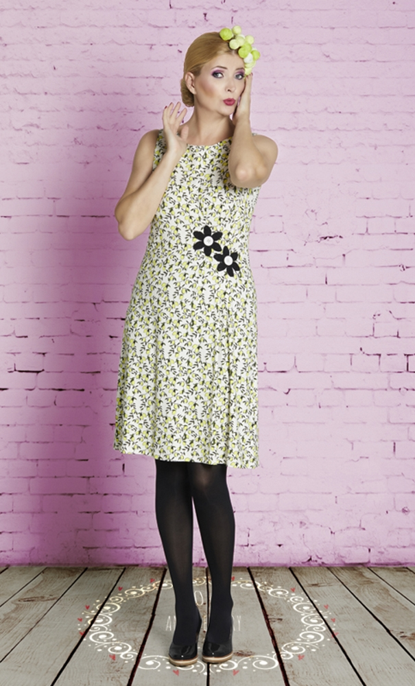 duMilde Poula's Lemonade Dress