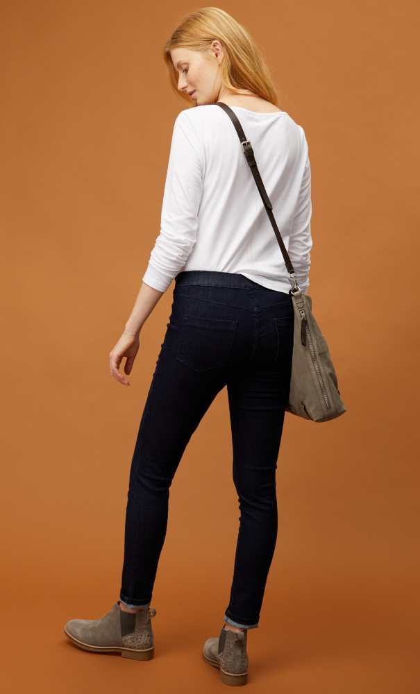 White Stuff Hazel Jegging Jean - Dark Denim