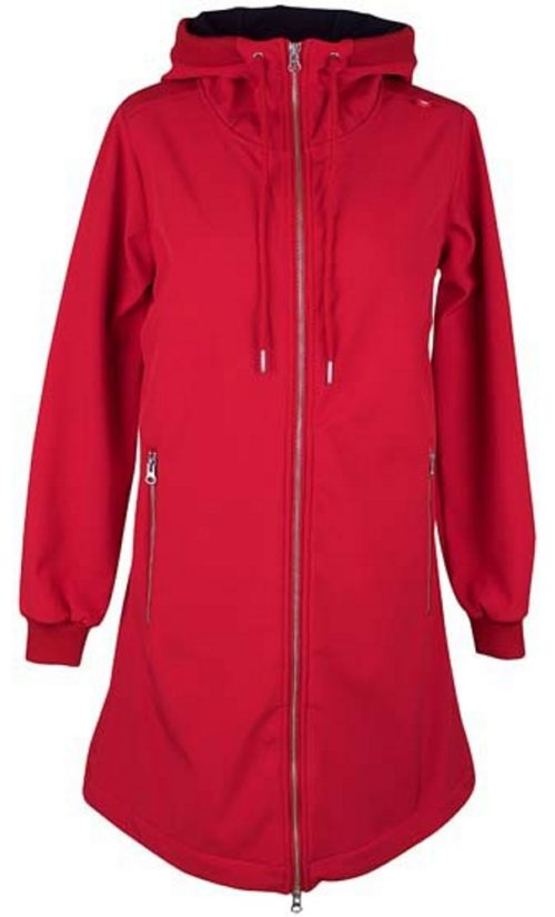 Danefae Jane Softshell Jas - Dark Red
