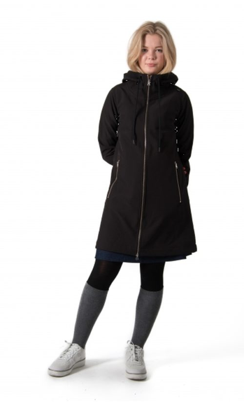 Danefae Jane Softshell Jas - Black