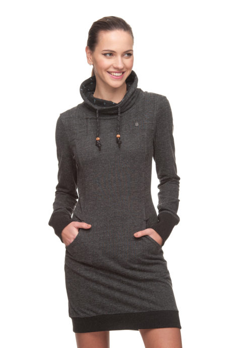 Ragwear Dita Dress - Dark Choco