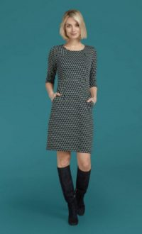 King Louie Mona Dress Wicked - Dark Navy