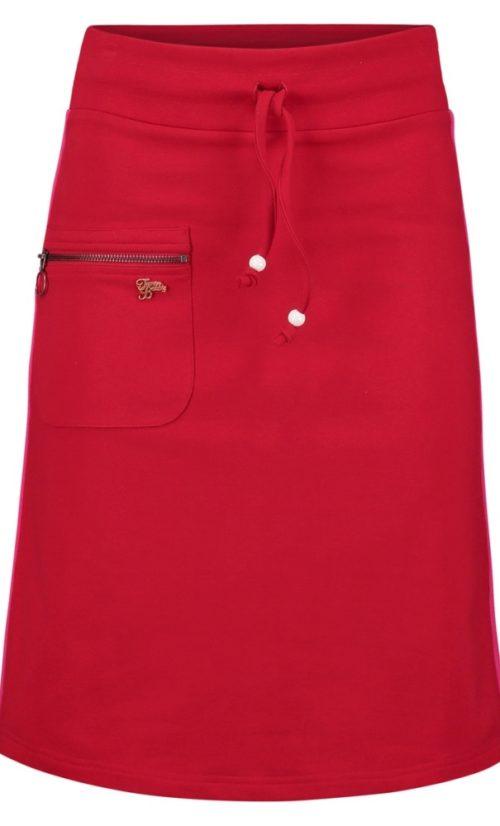 Tante Betsy Skirt Zipper - Red