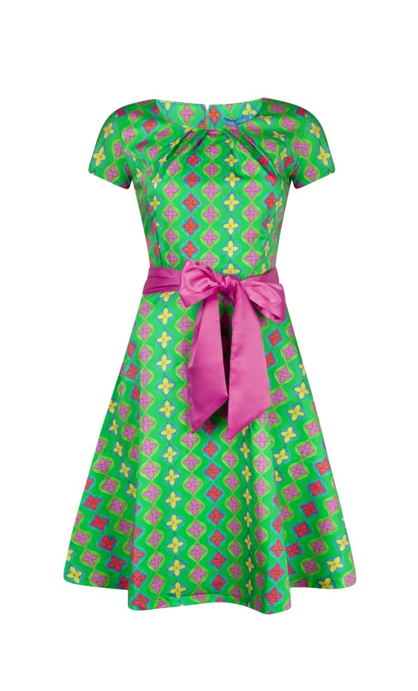Lien & Giel Dee Dress Cap - Retro Green