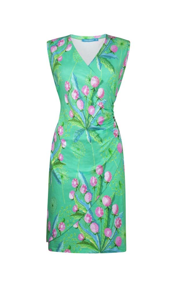 Lien & Giel Buenos Aires Dress - Dandelion Jade
