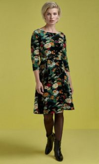 King Louie Betty Dress Bellefleur - Black