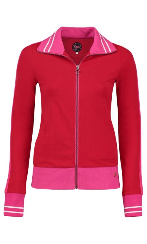 Tante Betsy Sporty Jacket Loopknit - Red