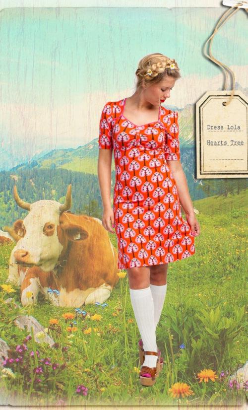 Tante Betsy Dress Lola Hearts Tree