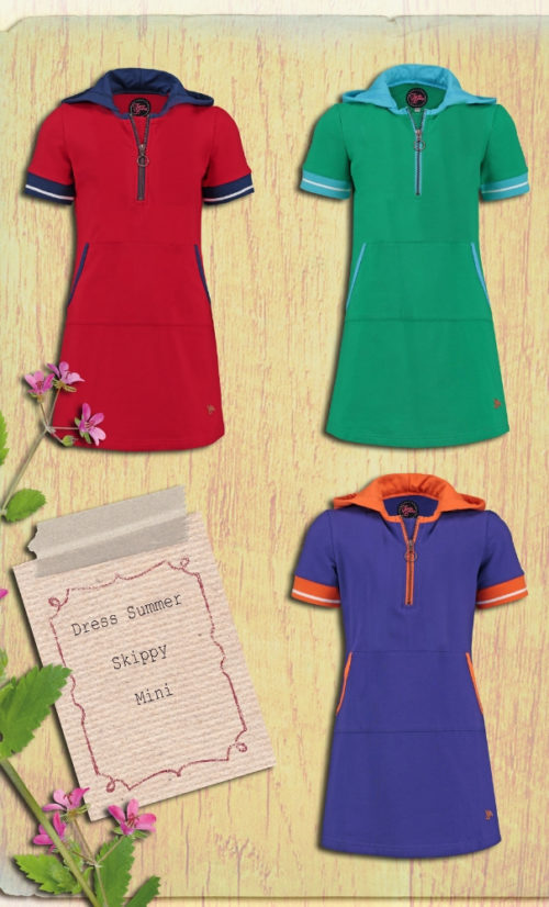 Tante Betsy Dress Summer Skippy Mini Purple