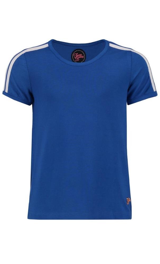 Tante Betsy T Shirt Stripe Girl Blue