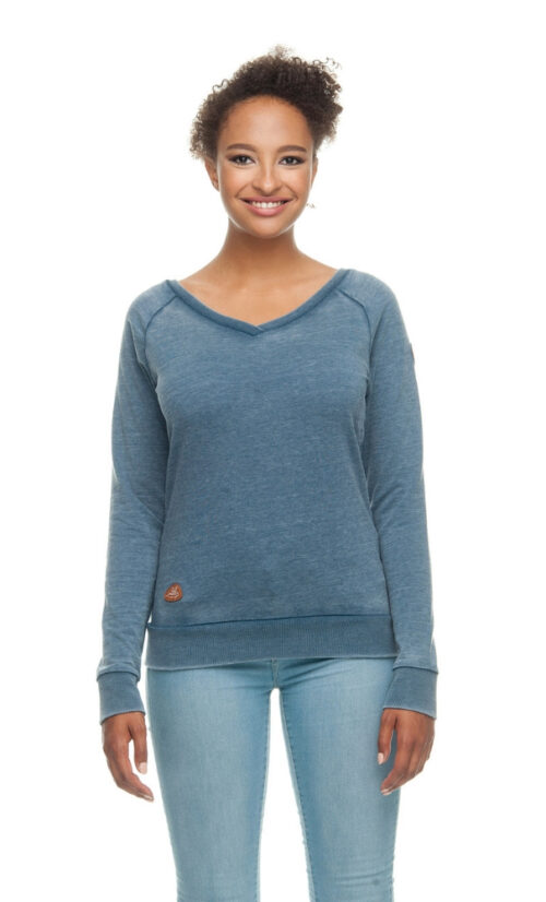 Ragwear Camila Sweatshirt - Denim Blue