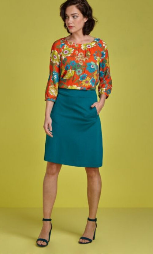 King Louie Davis SKirt Milano Crepe