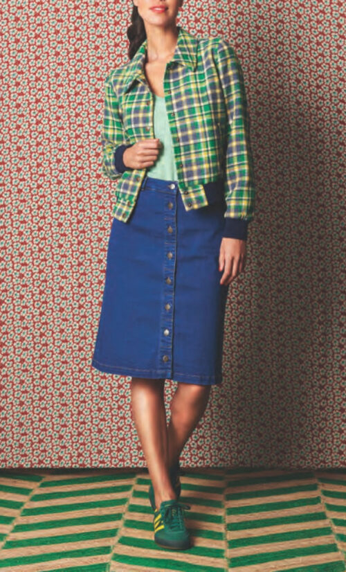 King Louie Angie Skirt Denim