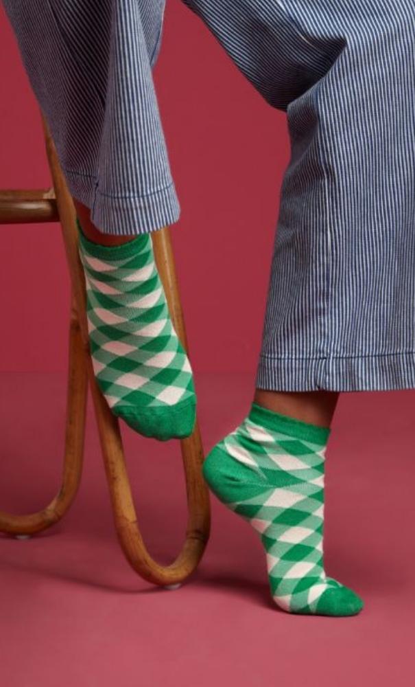 King Louie Socks 2-Pack Vichy