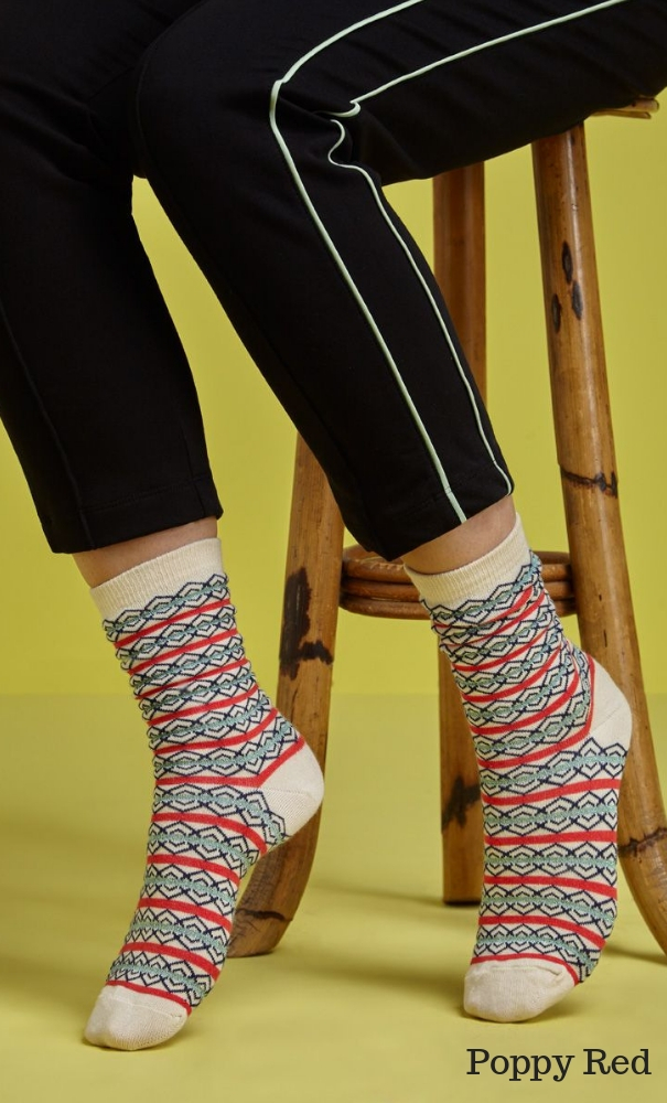 King Louie Socks 2-Pack Bari