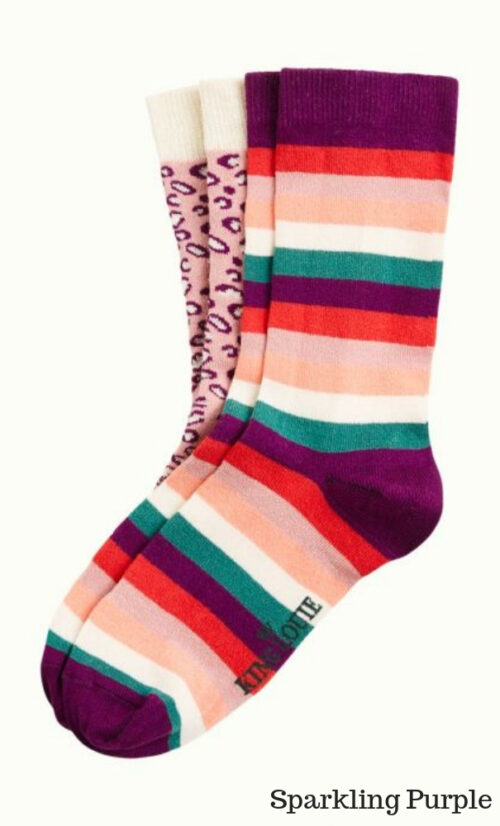 King Louie Socks 2-Pack Purr