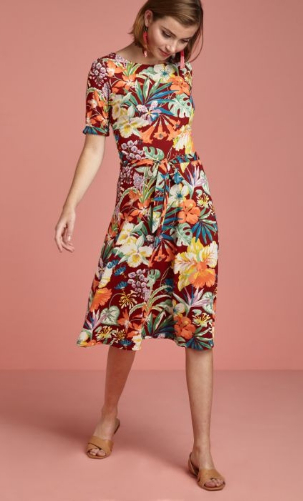 King Louie Betty Dress Avalon