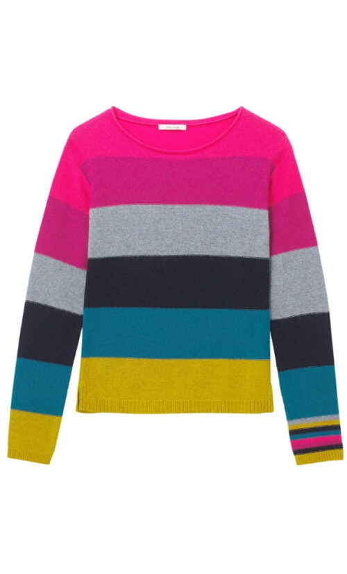 White Stuff Rainbow Stripe Jumper