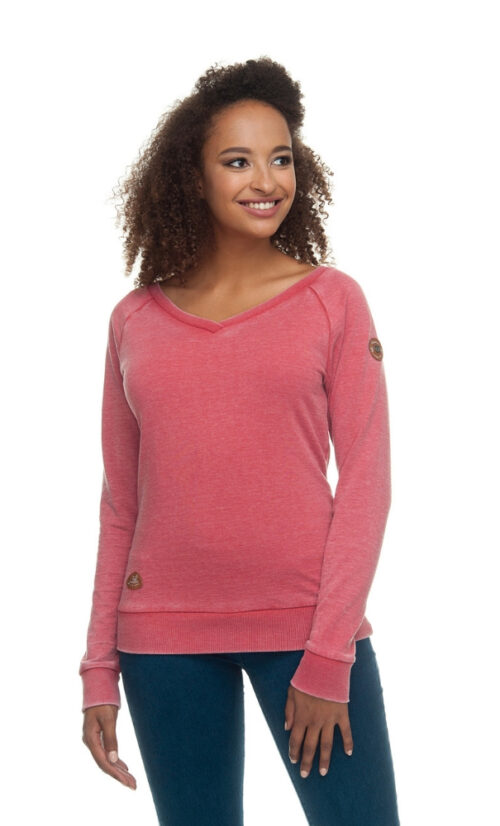 Ragwear Camila Sweatshirt - Chili Red