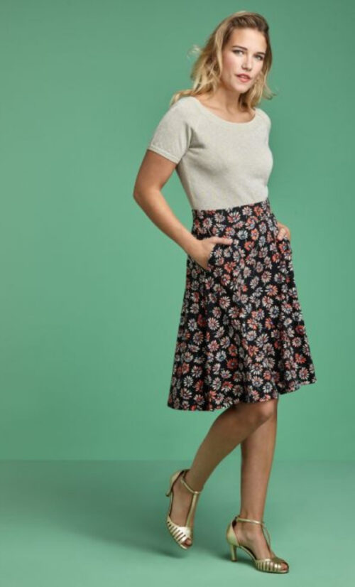 King Louie Serena Skirt Margarita