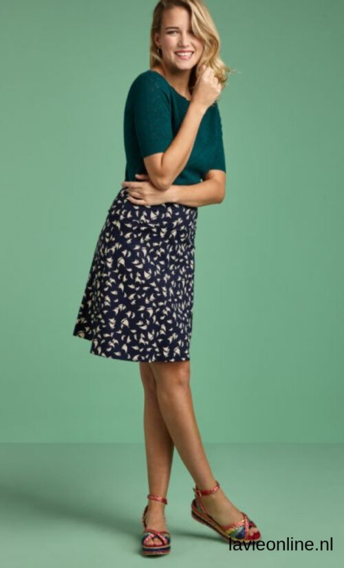 King Louie Border Skirt Marina