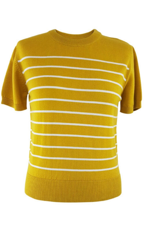 Pretty Vacant Breton Crew Yellow