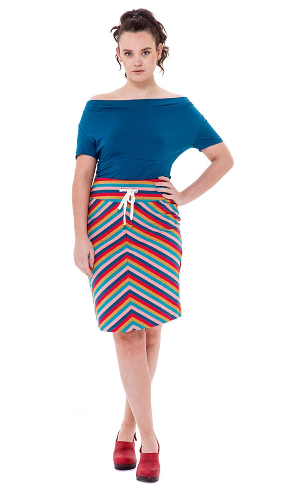 Bakery Ladies Tube Skirt Stripe