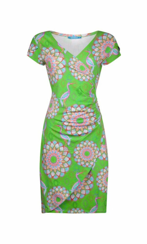 Lien & Giel Buenos Aires Dress - Mandala Green