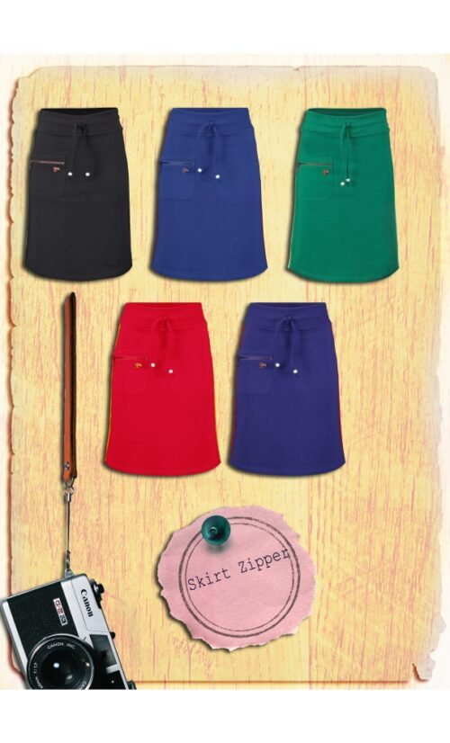 Tante Betsy Skirt Zipper - Blue