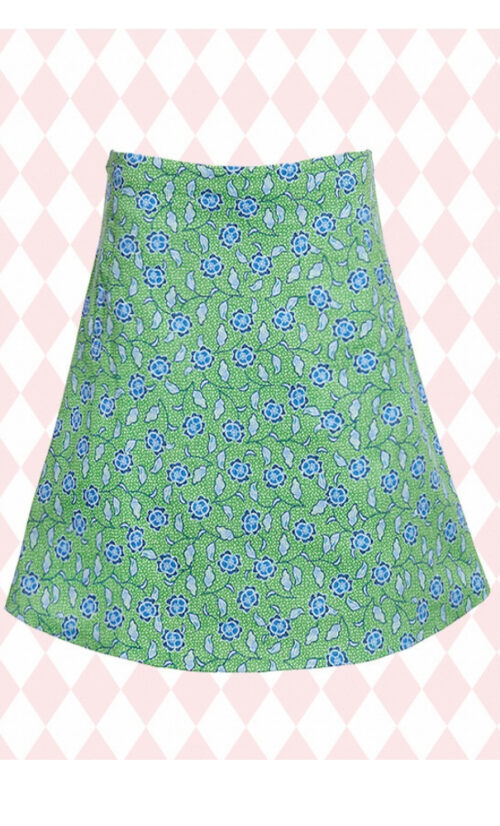DuMilde Sofias Green Skirt
