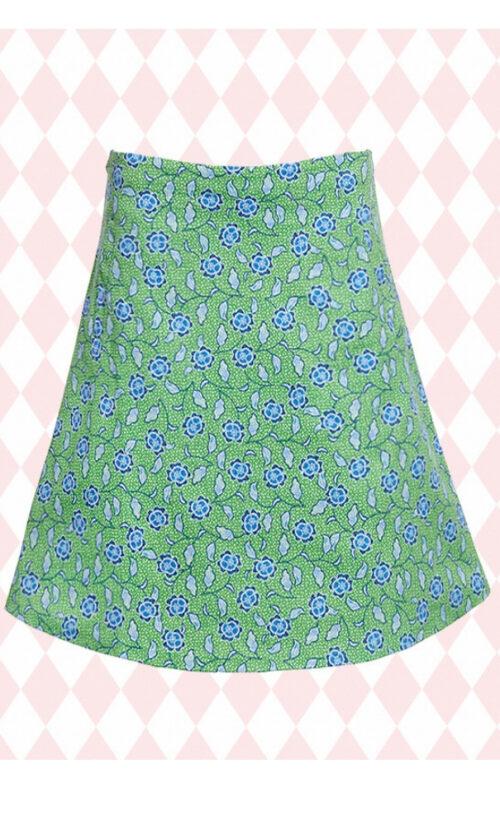 DuMilde Sofias Green Skirt