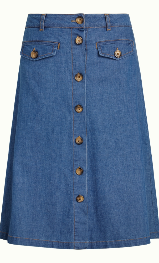King Louie Caroll Skirt Chambray