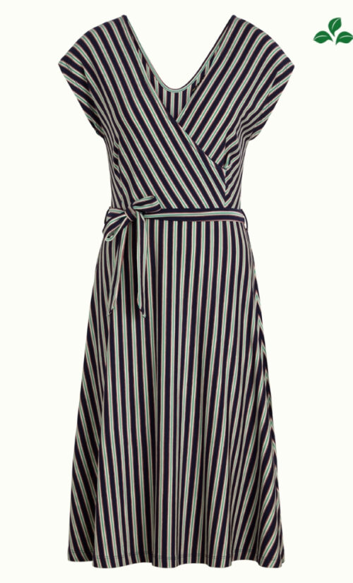 King Louie Mira Dress Rimini Stripe