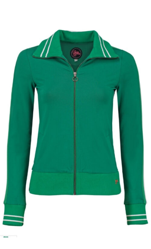 Tante Betsy Sporty Jacket Loopknit - Green