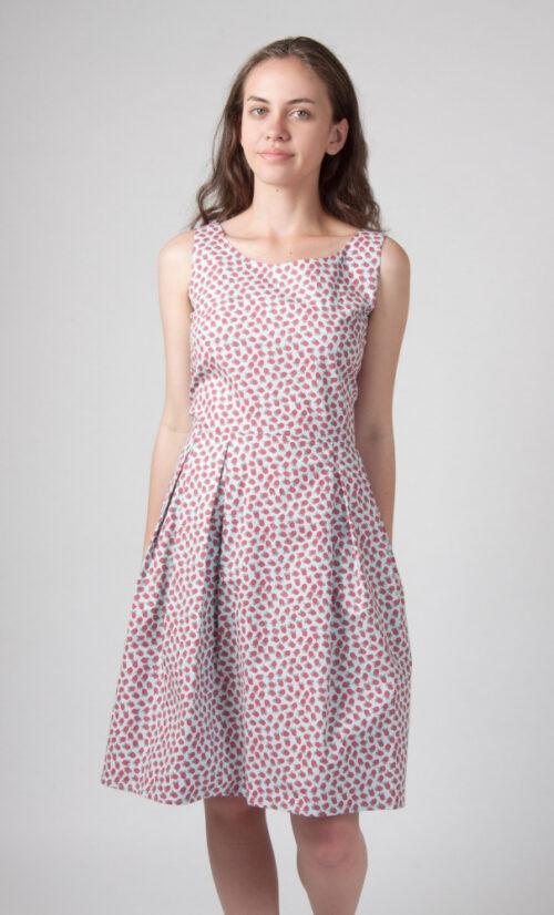Circus Raspberry Dress