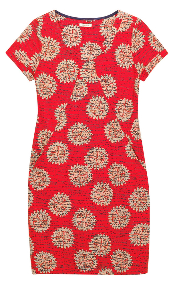 White Stuff Sorrel Dress Coral