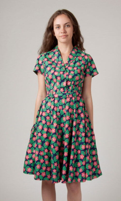 Circus Tropical Dress
